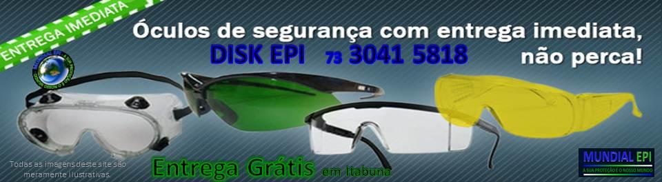 2566988422bb7 Óculos - Mundial EPI