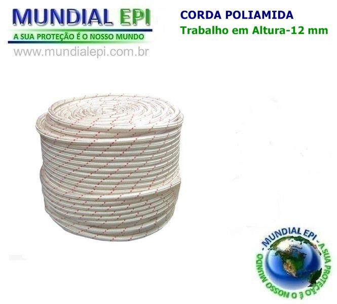 Corda Poliamida 12 MM - Mundial EPI 3c4c7bd051