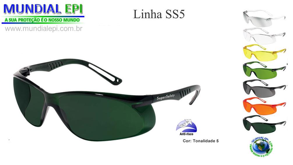 ÓCULOS DE PROTEÇÃO SS5-FUMÊ-CINZA CÓD. a36710b771