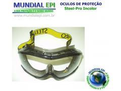 OCULOS AMPLA-VISÃO EVEREST INCOLOR - Mundial EPI 0b3befa5ac