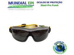 OCULOS AMPLA-VISÃO EVEREST FUMÊ - Mundial EPI 88eb0e33e3