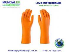 7edc79079aa94 LUVA SUPER ORANGE SUPER SAFETY TAM 8 - Mundial EPI