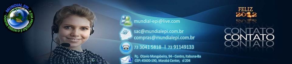 EPI EM ITABUNA E REGIÃO É NA MUNDIAL EM EPI - Mundial EPI 9977dd11e2